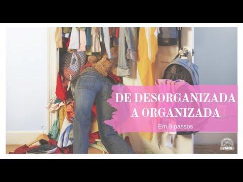 DE DESORGANIZADA A ORGANIZADA EM 3 PASSOS