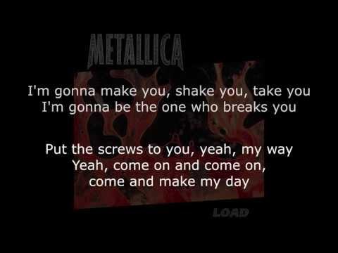 Metallica - 2 X 4 Lyrics (HD)