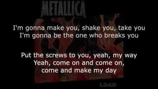 Metallica - 2 X 4 Lyrics (HD)