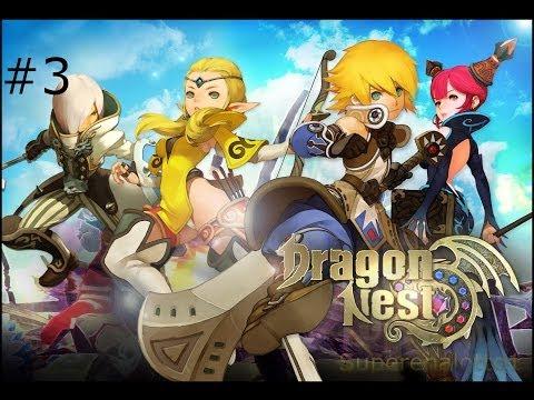 Dragon Nest - GamePlay N° 3 [ITA] Silent Monastery Dungeon (Boss Umbaba)