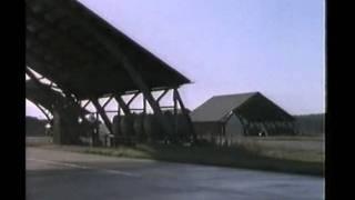 J-35 Draken på F16 1985 -- incident-roten startar