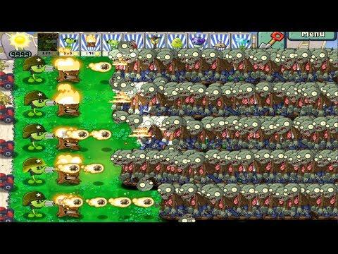 9999 Zombies Vs Gatling Pea Hack Plants vs Zombies | Thủ thuật máy tính và điện thoại 1