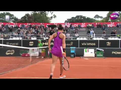 2017 Bogota Shot of the Day 2 | Sara Errani