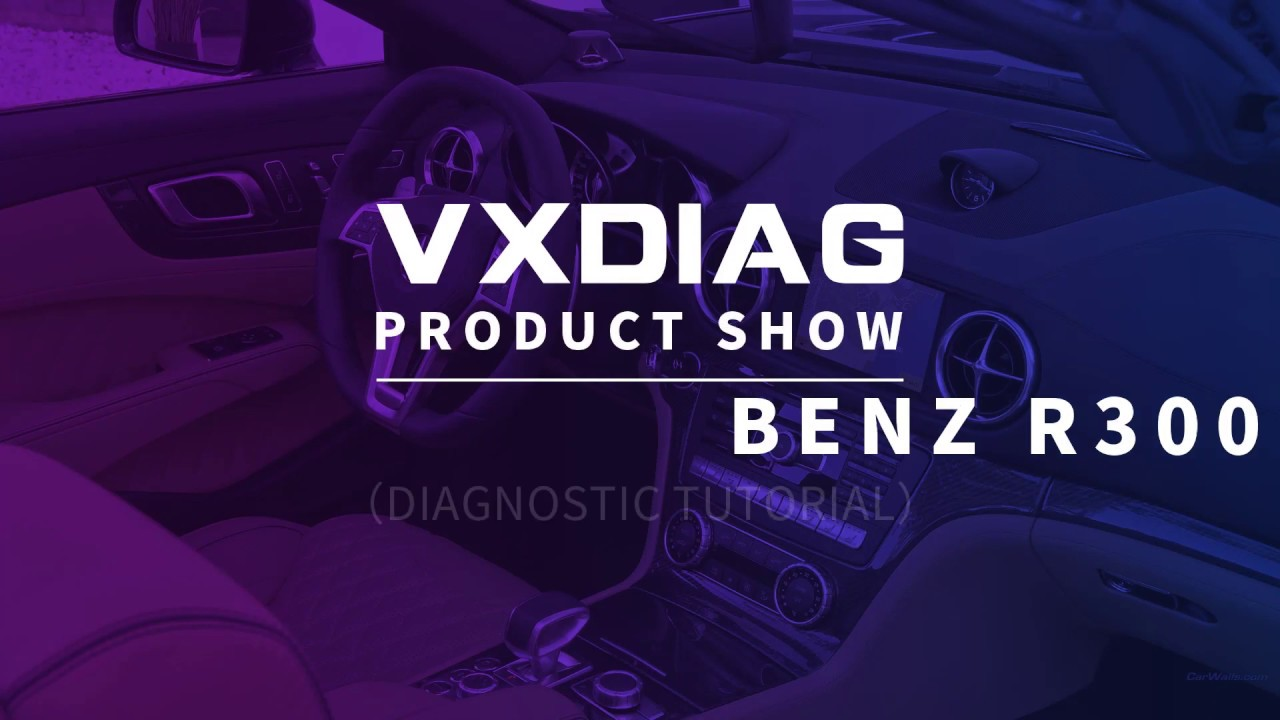 VXDIAG Mercedes BENZ MB SD Connect C6 STAR C6 XENTRY DIAGNOSIS TOOL Work  for New Mercedes-Benz R300