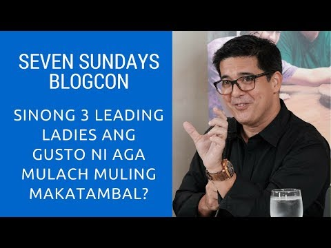 Who are the Actresses that Aga Muhlach Want to Work With? Lea Salonga?