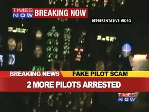 2 more fake pilots arrested