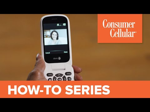 Doro 7050: Using the Contacts Feature (5 of 7) | Consumer Cellular