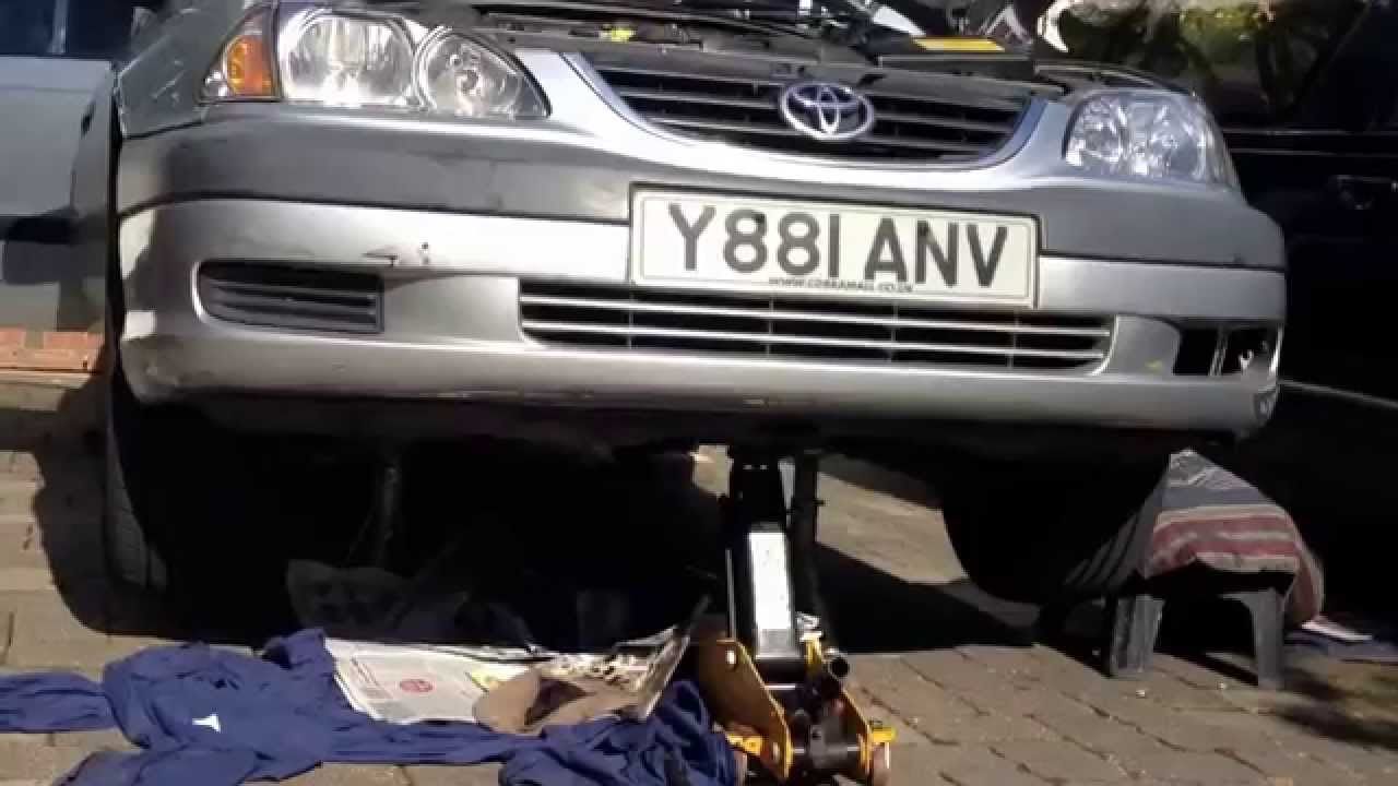 Toyota Previa Oil Capacity Fuel Filter Location Change Avensis Youtube 1280x720
