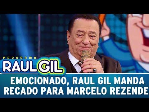 Emocionado, Raul Gil Manda Recado Para Marcelo Rezende | Programa Raul Gil (27/05/17)