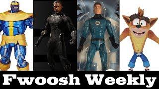 Weekly! Even More Marvel Legends, NECA Crash Bandicoot, SHF Star Wars, and Mezco Black Panther!