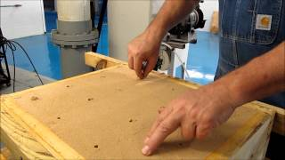 Building a mold with sodium silicate