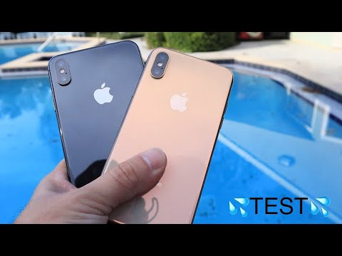 iPhone Xs & Xs MAX Water Test
