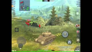 World Of Tanks Blitz II Sherman Jumbo Bounces Left N