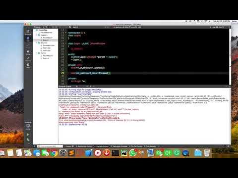 Qt Creator Symbols Not Found For Architecture X86 64