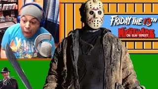 JASON SCARED THE F#%K OUT OF ME!! [SCARY NES GAMES!]