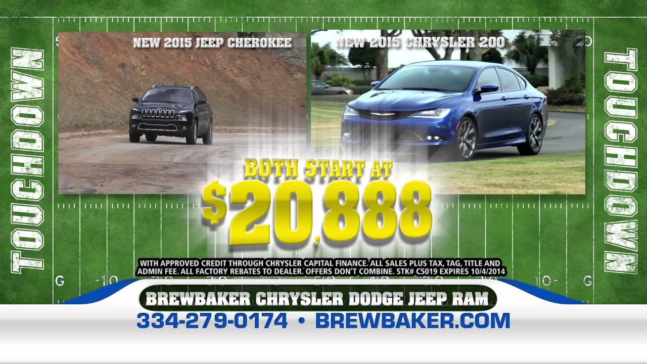 Brewbaker Chrysler Dodge Jeep Ram September Ad Youtube