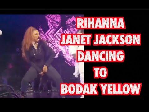 JANET JACKSON DANCING TO CARDI B BODAK YELLOW