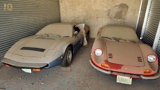 Заброшенные Суперкары Найденные в Гаражах и Амбарах Автомобили Машины Брошенные Более 40 Лет Назад