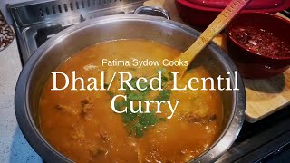 DHAL RED LENTIL CURRY