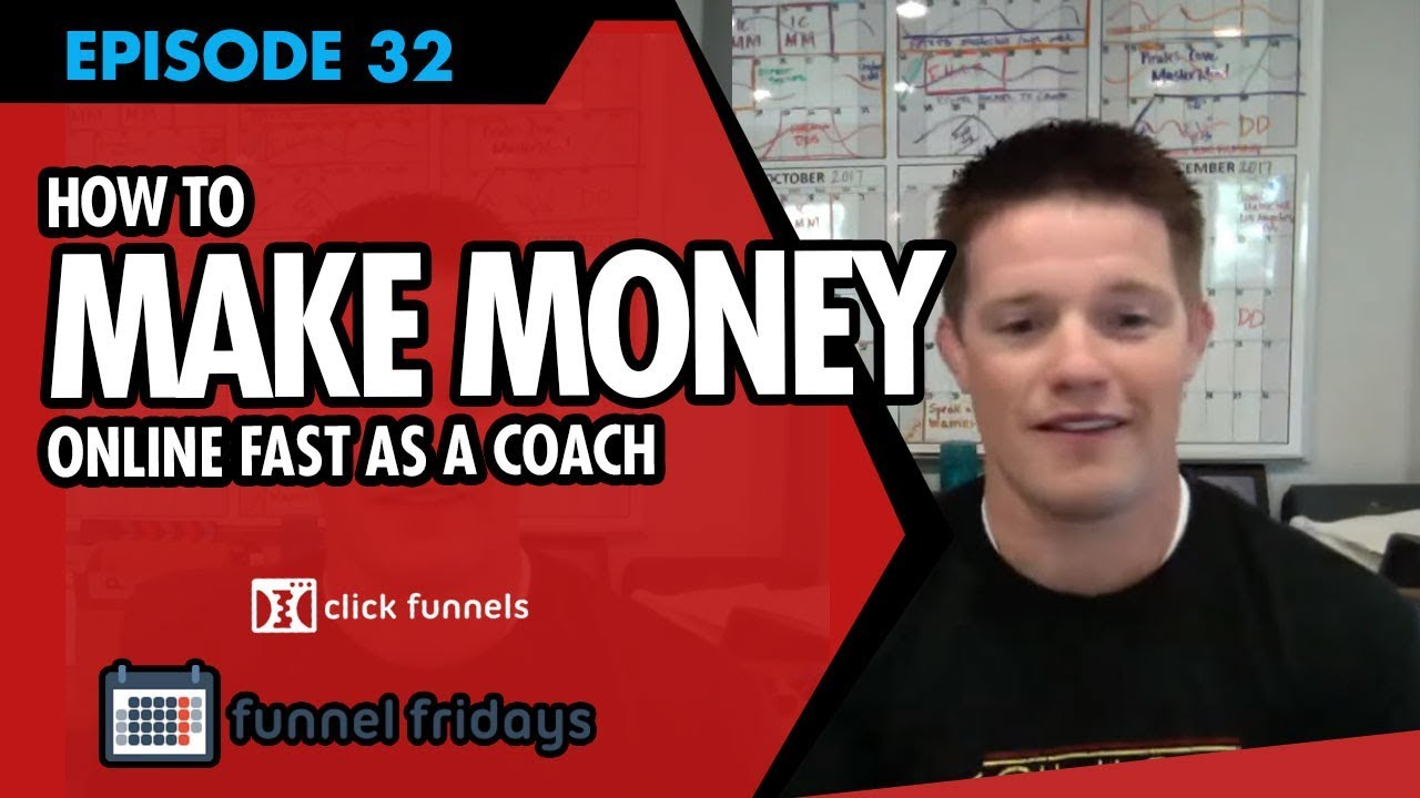 "How To Make Money Online Fast As A Coach - Use This ""Coaching"" Sales Funnel Template"