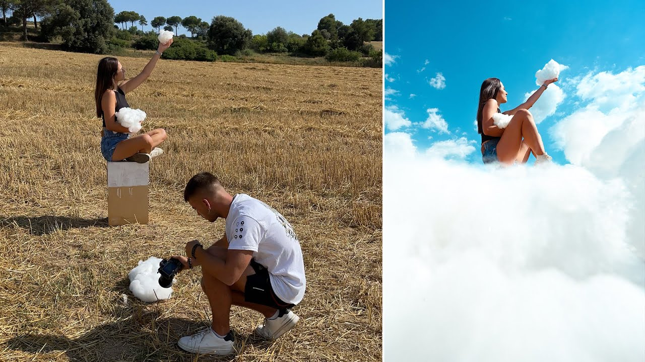 Above the clouds ☁️📸 #Shorts - Creative Photography