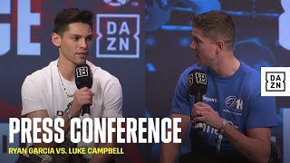 Ryan Garcia vs. Luke Campbell: Full Final Press Conference