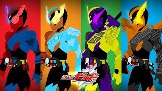 【仮面ライダービルド】PIVOT KAMEN RIDER BUILD | Gorilla Diamond, Hawk Gatling & Ninja Comic
