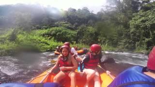 Rafting in Bali on the Telaga Waja River