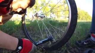 Как быстро заклеить прокол на велосипедном колесе!?(В начале моей велосипедной карьеры, вопрос проколов у меня вызывал некий страх. С опытом он ушел. Я наработа..., 2015-05-10T03:42:16.000Z)