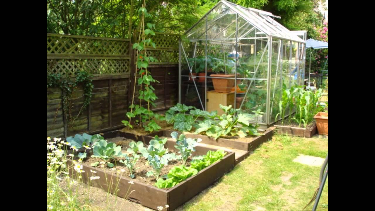 Design Ideas For Small Garden Greenhouse YouTube