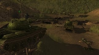 Men of War Vietnam - NV campaign walkthrough - Mission 4 - Gatecrashers 1/2