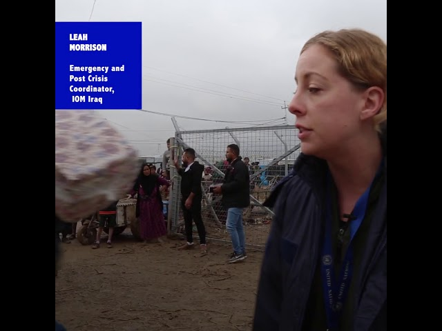 IOM Responds to Flooding in Iraq