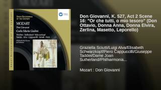 Don Giovanni (2002 Remastered Version) , Act II, Scene Five, Epilogue: Or che tutti, o mio...