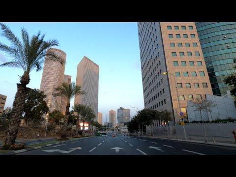 4K Tel Aviv- Kiryat Ono -Tel Aviv Driving In Israel 2020 נסיעה מתל אביב לקריית אונו ישראל