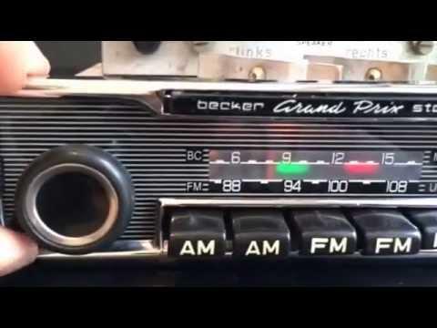 chromelondon becker grand prix us stereo radio with amp
