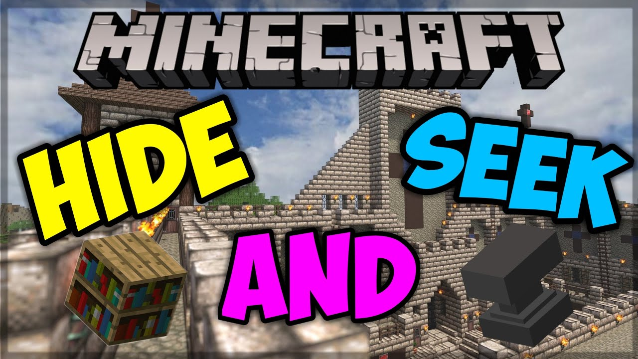 TUTORIAL How To Play Hide And Seek In Minecraft (tlauncher