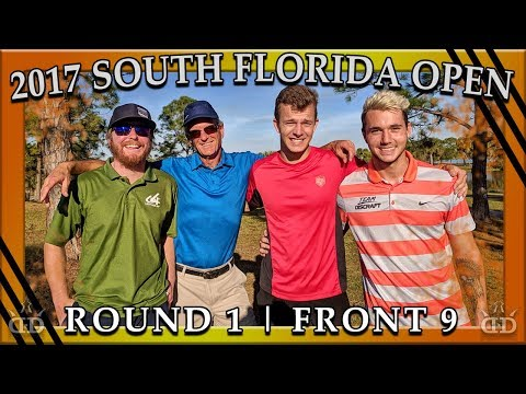 2017 South Florida Open - R1 Front 9 - Austin Turner, Grady Shue, Geoff Hungerford, Weston Isaacs
