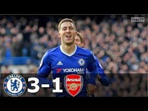 Chelsea vs Arsenal 3-1 - EPL 2016/2017 - Full Highlights HD