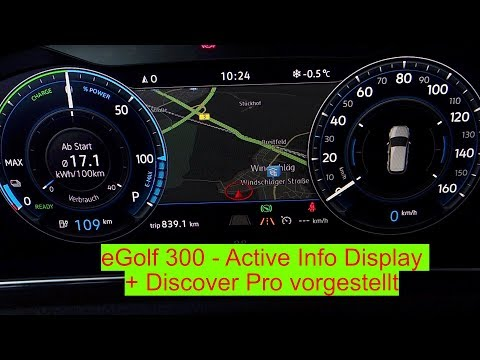 E-Golf 300 - Active Info Display + Discover Pro - Die Extras Teil 3