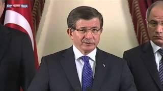 داودأوغلو: إجراءات أمنية جديدة بعد تفجير أنقرة