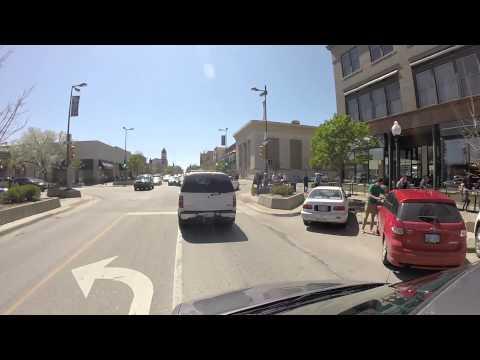 04-04-15 VLOG:  Driving Downtown Lawrence, Kansas