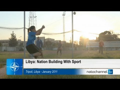NATO and Libya - Nation building with sports