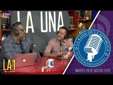 #LA1 - Banxico se suelta el pelo - La Radio de la República - @ChumelTorrres