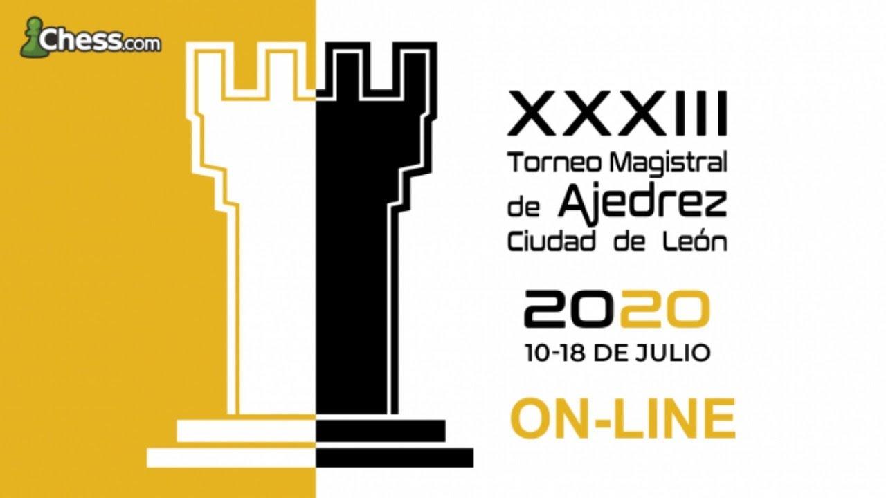 Exhibición de AJEDREZ de ALTO NIVEL (¡ESPECTACULAR!) | Magistral de León