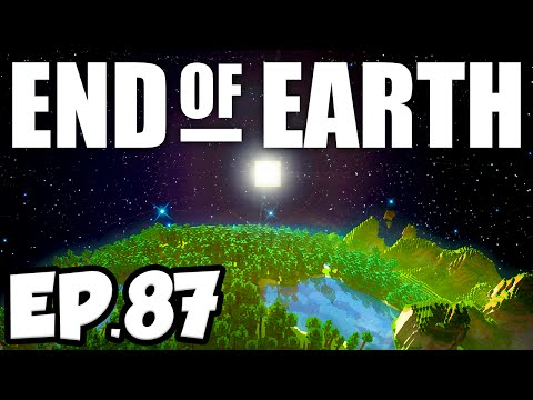 End of Earth: Minecraft Modded Survival Ep.87 - STARTING THE ME MACHINE!!! (Steve's Galaxy Modpack)