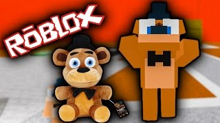 FNAF SISTER LOCATION PLUSHIE TYCOON Roleplay in Roblox - Part 2 | Roblox FNAF Let's Play