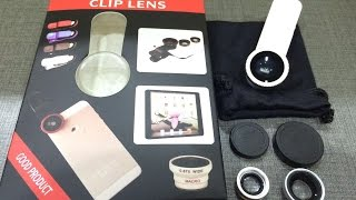 Universal Clip Lens - универсальный объектив для смартфонов(, 2015-06-04T09:12:13.000Z)
