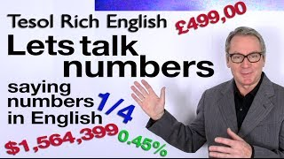 Business English - Lets talk numbers - Saying figures in English