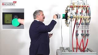 Cómo funcionan los colectores para equilibrado hidráulico DB de Giacomini