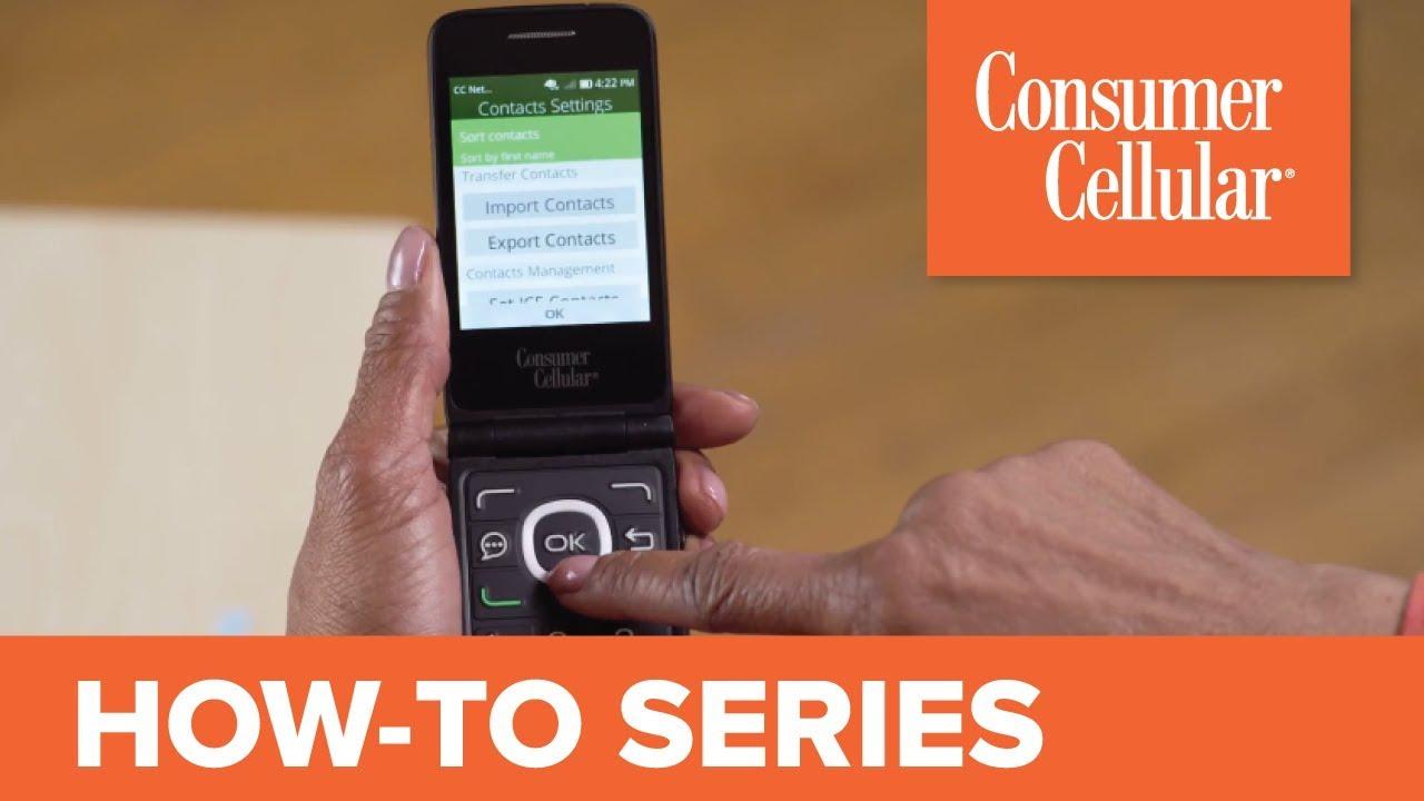 Alcatel Go Flip: Transferring Contacts (6 of 7) | Consumer Cellular